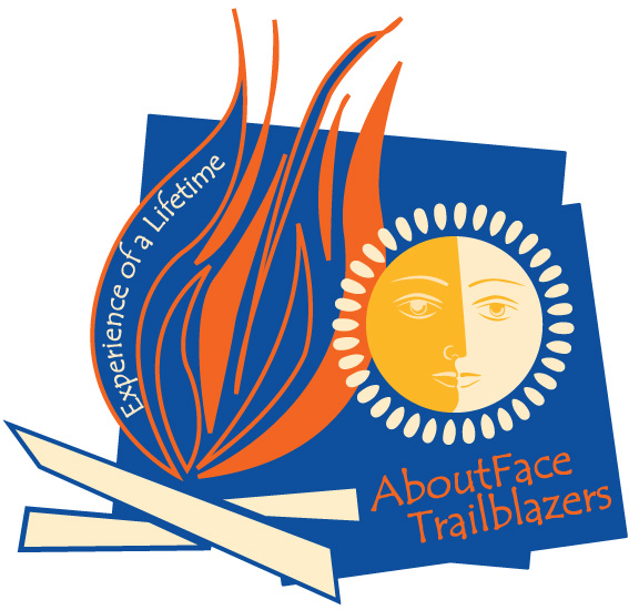 AboutFace Trailblazers Camp Button