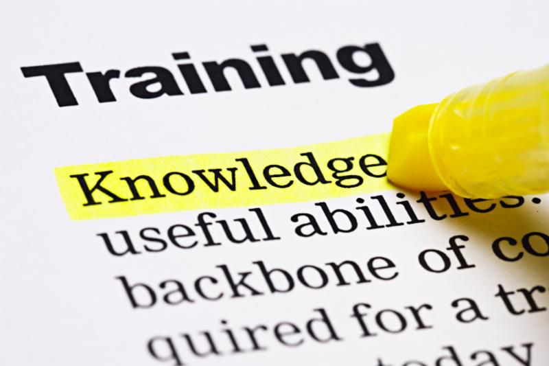 training and knowledge image