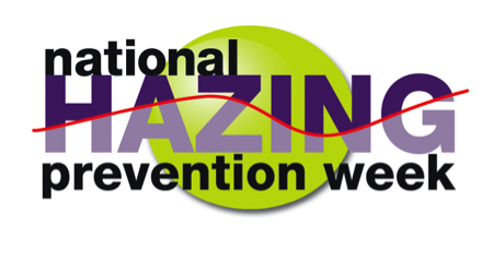 Hazing Prevention Week Logo