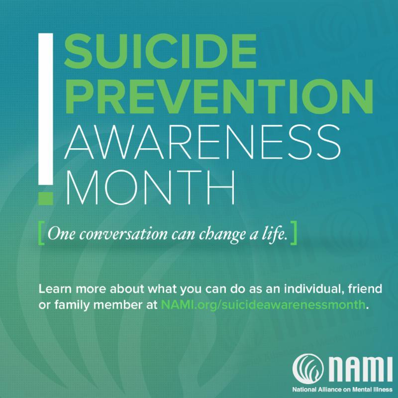 NAMI Suicide Prevention Awareness