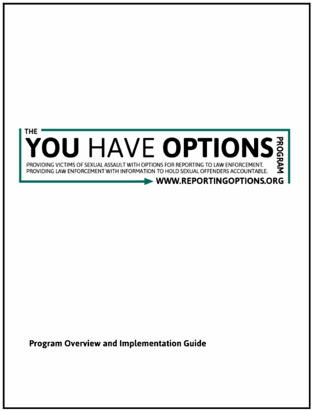 You Have Options Guide