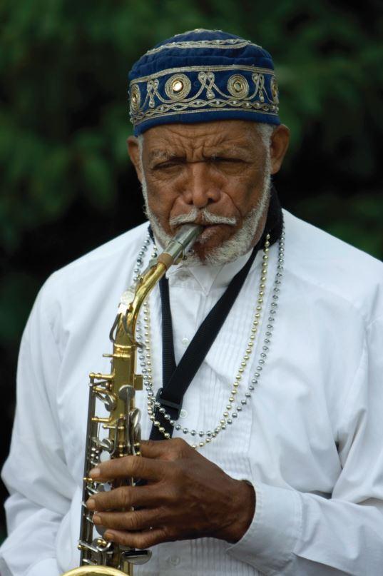 older musician