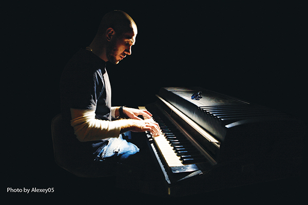 This is a picture of a pianist