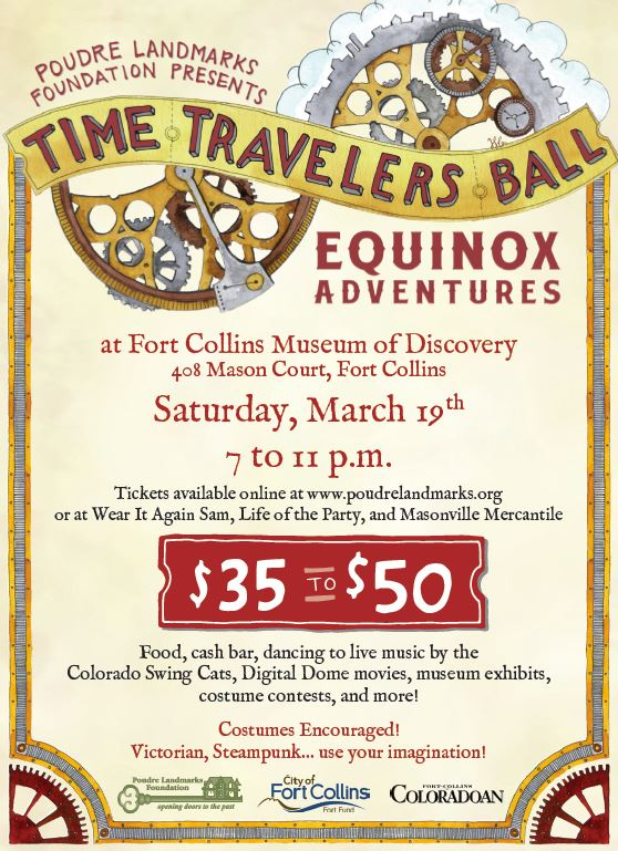 Time Travelers Ball 2016