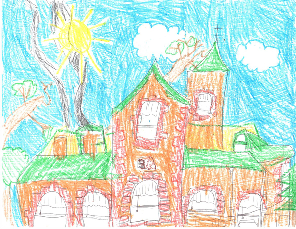 Child's Sketch of Avery House