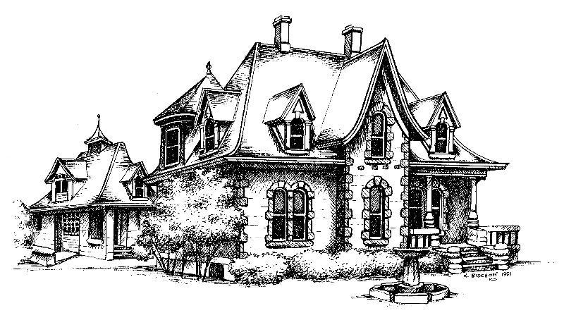 Avery House Sketch