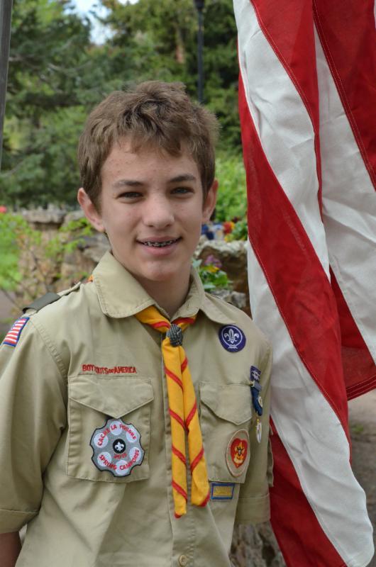 Chris Ray Boy Scout