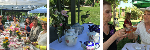 Tea on the Avery Lawn 2016
