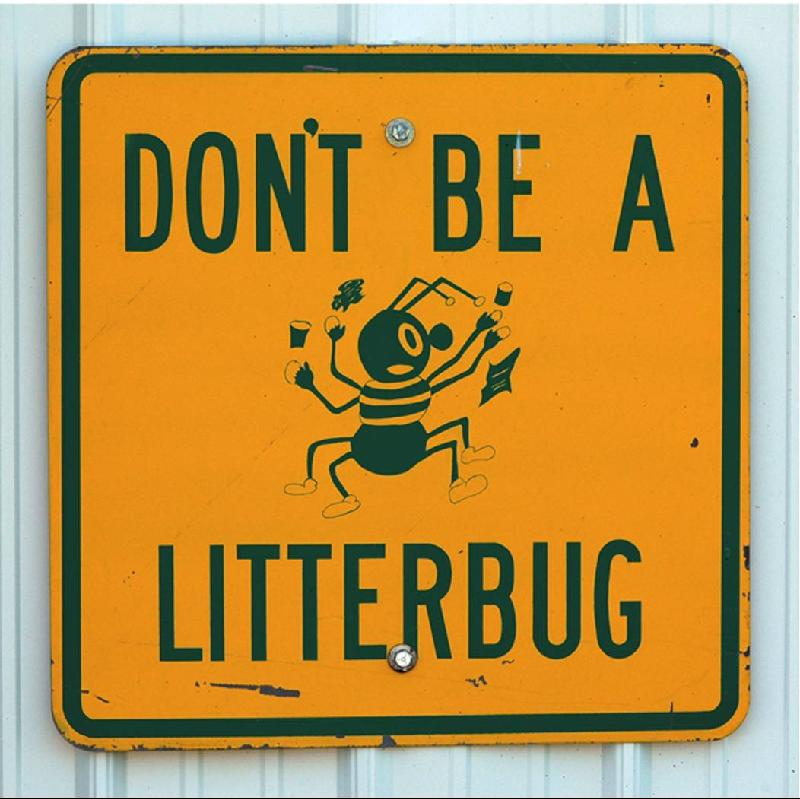 Don't Be a Litterbug, Adopt a Street!