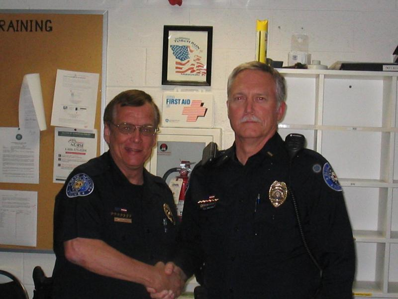 Lt. John Kingsolver Employee of the Month 2010
