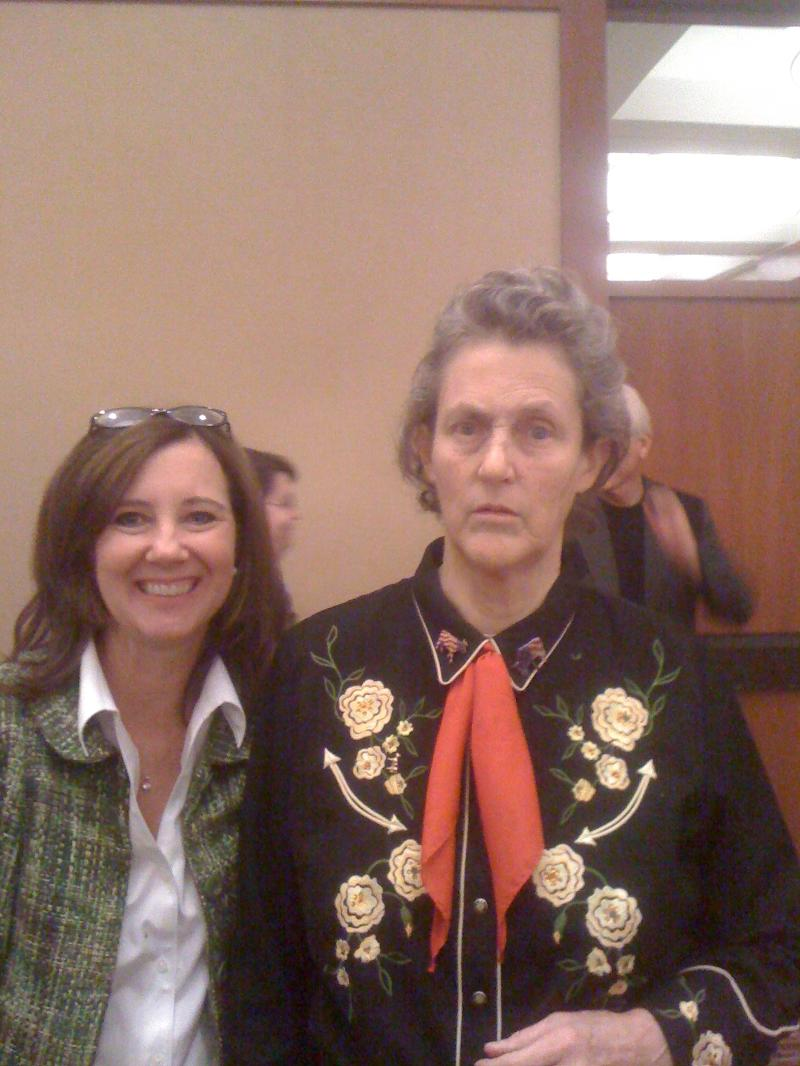 Toyah Robey and Dr. Temple Grandin