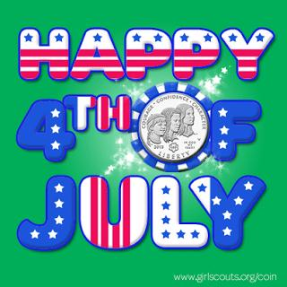 GSUSA 4th of July_Coin