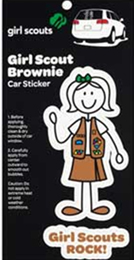 Brownie decal