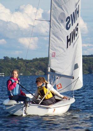 Stephanie of Geneva with HWS Sailor