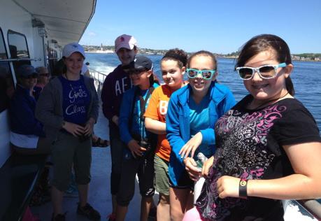 Boston 2014 Whale Watch Trip