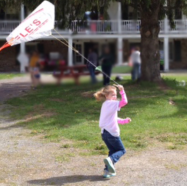 kite flying at Constable Hall