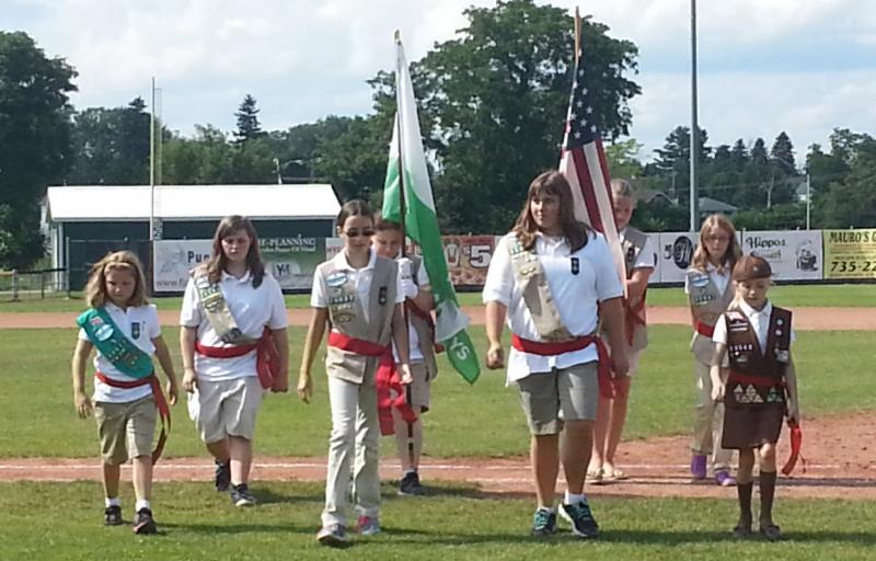 Utica Flag Ceremony