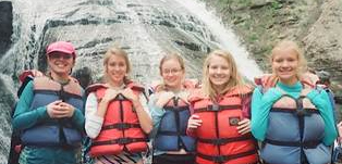 Corning Seniors 40673 rafting