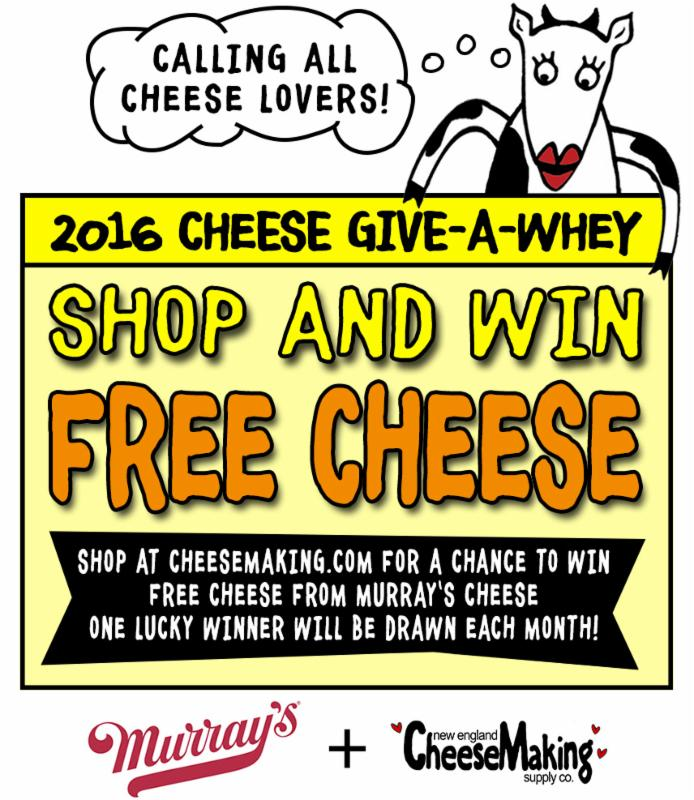 The 2016 Cheese Give-A-Whey_