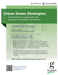 Urban Green Strategies poster