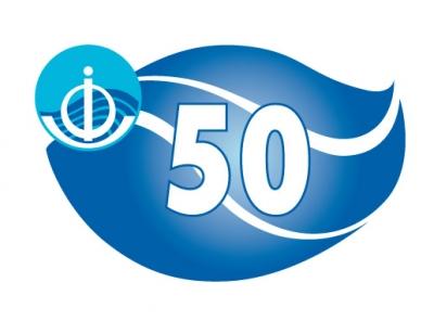 IOC 50th Anniversary Logo