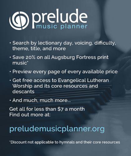 Prelude Music Planner