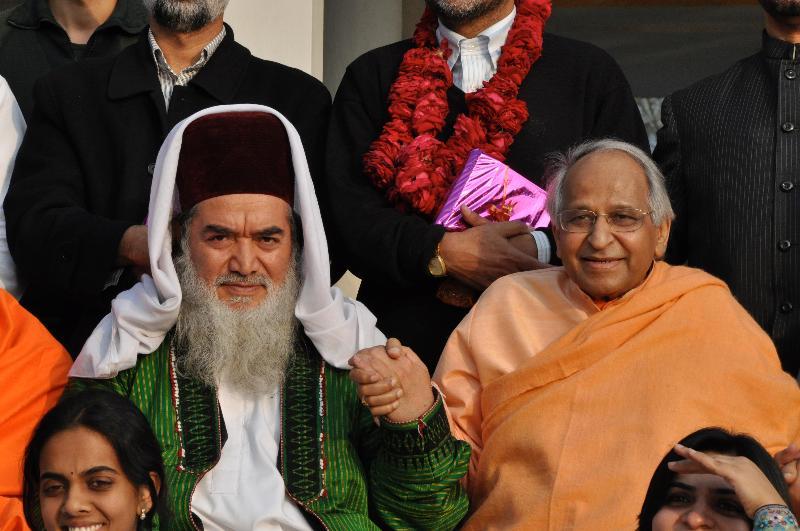 Sheikh Said Ahmad   Shah and Swami Veda Bharati