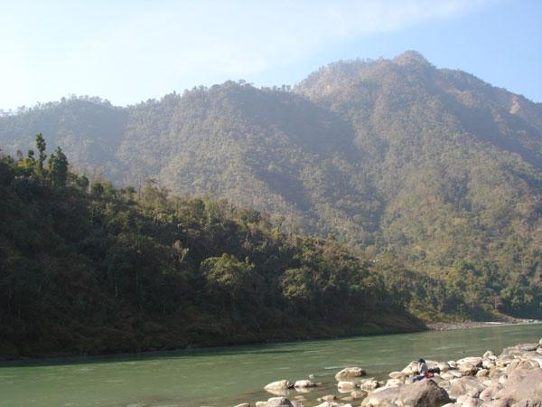 The majestic Himalayas   and the Ganga