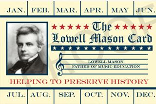 Lowell Mason Card