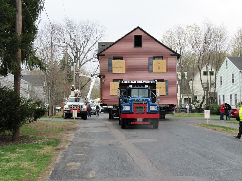 Lowell Mason House Move