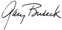 Gary Buseck signature