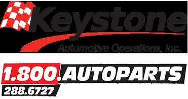 Keystone & 800 Auto Parts logos