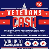 2012 Vets Cash ticket