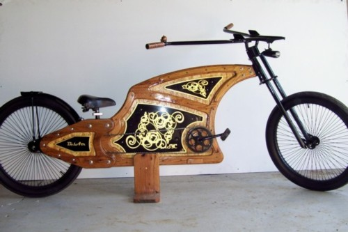 were more going for function here getting a little tyke onto a bike without waiting on the magical combination of ergonomics growing boys - Wooden Bike Frame