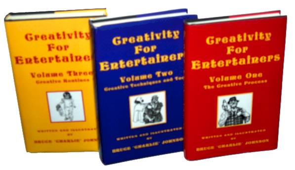 Creativity For Entertainers Trilogy