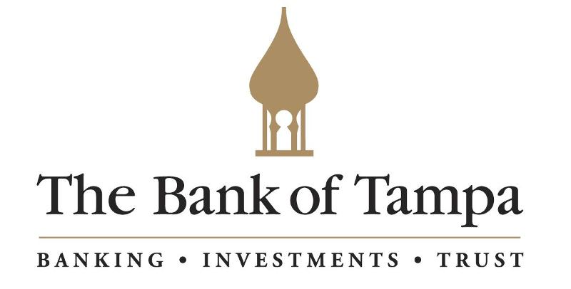 Bank of Tampa Logo with Tag