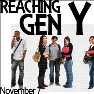 Reaching Gen Y banner ad