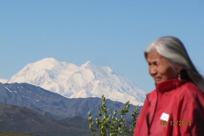 Sheila Collins' new Alaskan Friend