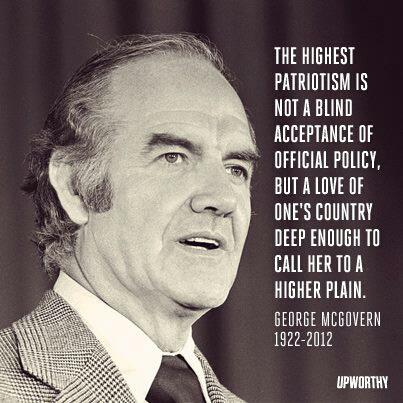 George Mcgovern Quote