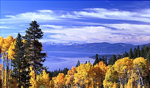 tahoe in fall