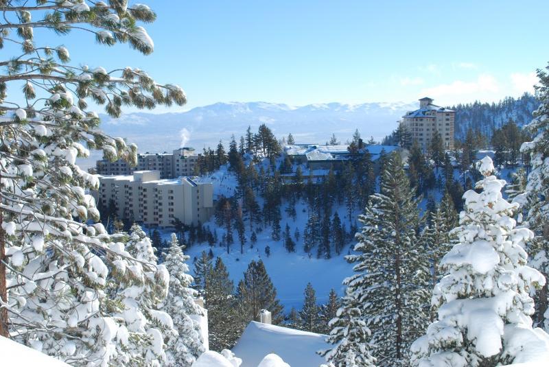 ridge in winter
