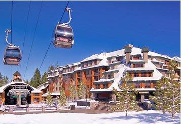 Lake Tahoe Marriott winter view