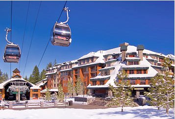 Marriott TImber Lodge Snow