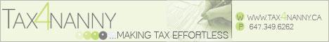 Tax4Nanny Banner