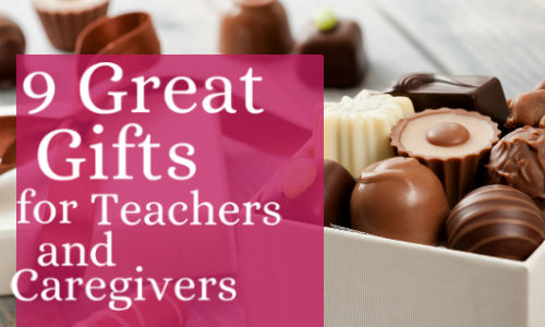 Christmas gifts for teachers at daycare i