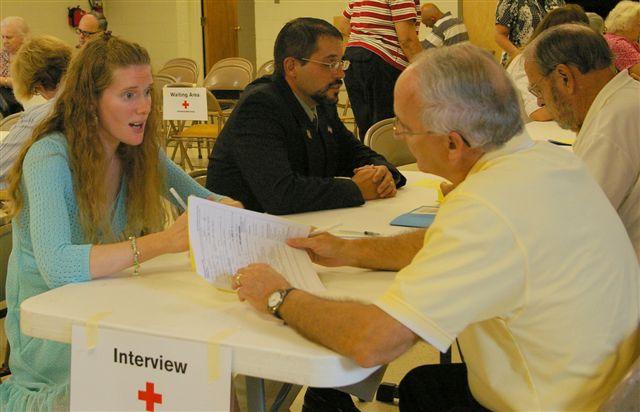 Disaster Response Volunteer Processing