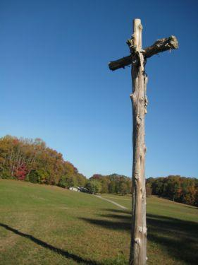 Cross at John Knox Center