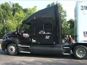 Truck taking tornado relief to Tuscaloosa AL