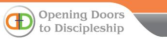 Opening Doors to Discipleship logo