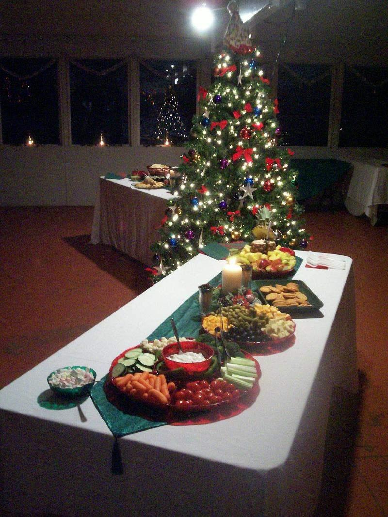 Advent Dinner buffet